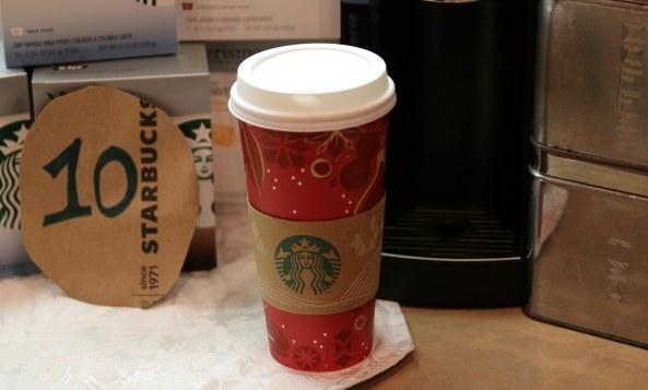 Starbucks countdown 10