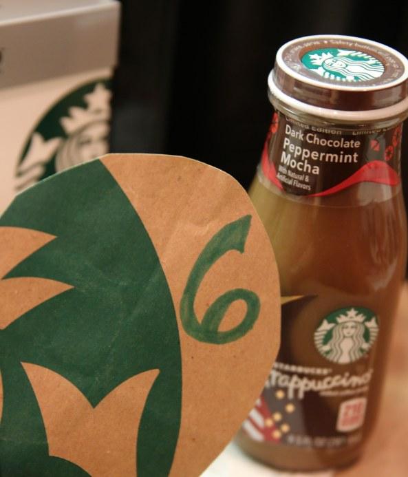 Starbucks countdown 6