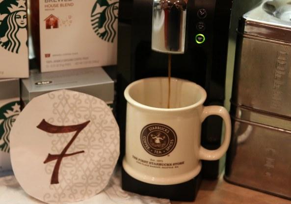 Starbucks countdown 7